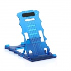 PANNOVO TrIpod-04 5-Level ABS Cell Phone Stand Holder for Ipad 4 / Ipod / Iphone 4 / 4S / 5 - Blue