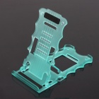 PANNOVO TrIpod-04 5-Level ABS Cell Phone Stand Holder for Ipad 4 / Ipod / Iphone 4 / 4S / 5 - Green