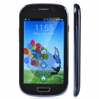 "S3mini / E18 Android 4.2 Bar Phone w/ 4.0"" Capacitive Screen, Dual Network Standby and Wi-Fi - Blue"