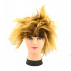 Creative Hedgehog Hair Wig - Black + Golden