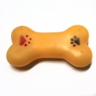 Pet Exclaimed Bone Vinyl Toys - Orange