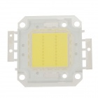 20W 2000lm 6200K White Light Square Shaped LED Module - White + Silver + Yellow (30~36V)