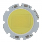 WT-QM W5 5W 500LM 6200K White Light 1-LED Light Module - Silver + Yellow (2 PCS /15-16.5V)