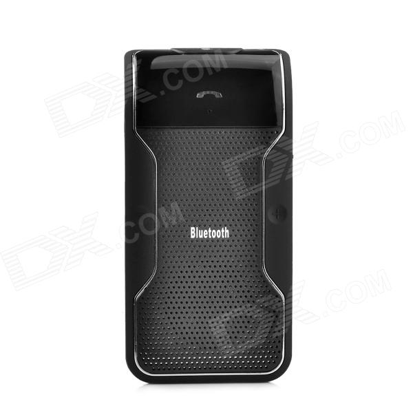 BTLD-158 Vehicle Bluetooth V3.0 + EDR Handsfree Speaker w/ Car Charger - Black