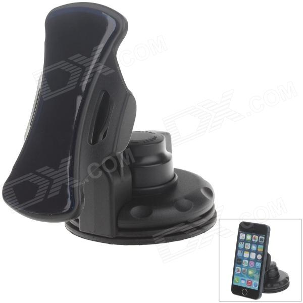 Car Instrument Desk Silicone Holder Mount w/ C71B 2.5~9 Silicone Back Clip for GPS/PDA/Cell Phone