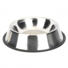 Doglemi DM70055-L Stainless Steel Bowl for Pet Dog - Silver
