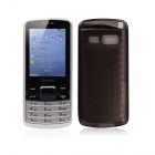 "G611 Dual-Core GSM Bar Phone w / 2.4 "", Quad-Band, Bluetooth, Dual SIM, Dual Network Standby - Schwarz"