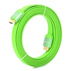 Unitek Y-C155GN HDMIV1.4 Male to Male Connection Flat Cable - Green (3m)