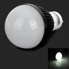 WindFire 	GU10 3W 180lm 6000K 3-LED White Light Bulb - Black + White (85~265V)