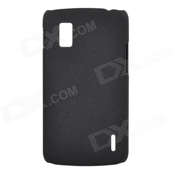 Drift Sand Style Protective Plastic Back Case for Google Nexus 4 / LG e960 - Black цена 2017