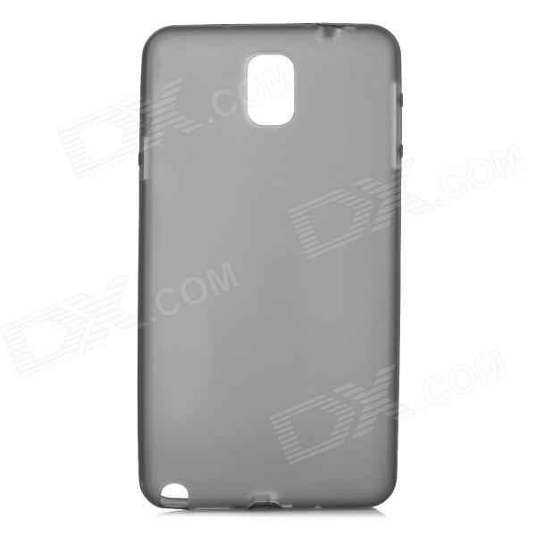 Protective Matte PC Hard Back Case for Samsung Galaxy Note 3 - Translucent Grey ultrathin 0 3mm protective pc back case for samsung galaxy note 3 n9000 translucent white