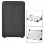 Stylish Protective PU Leather Case for Samsung P3100 - Black