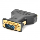 VGA hane till 3RCA Audio Video-Adapter - svart + Golden