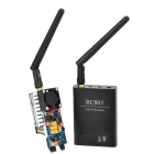 ZnDiy-BRY RC805 5.8GHz FPV 500mW Wireless Video Audio Transceiver System - Black