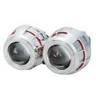 "Car 2.8"" Dual Angle Eye H1 / H7 / H4, 9005 / 9006 35W 2400lm 4300K Projector Lens HID Lights (12V)"