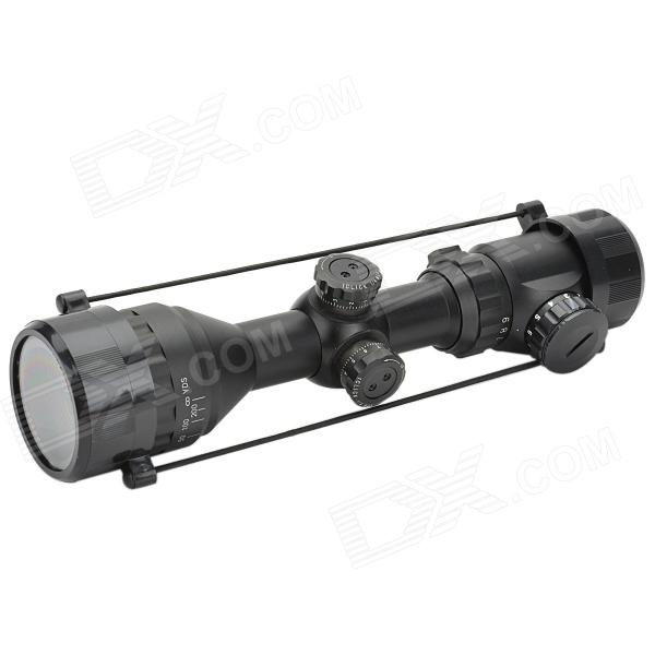 3 ~ 9 * 40 mira láser Rifle Scope con el montaje del arma (láser azul configurable)