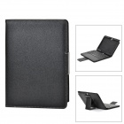 IS11-SN2 Removable Bluetooth v3.0 64-Key Keyboard + PU Case for Samsung Galaxy Note 10.1 - Black