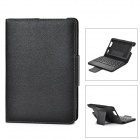 "IS11-KF7(2) Removable Bluetooth v3.0 59-Key Keyboard + PU Case for Kindle Fire HD 7"" II - Black"