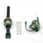 Watch & Headset Walkie Talkies - Green (6 * AG10)