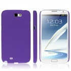 ENKAY Quicksand Style Protective Plastic Back Case for Samsung Galaxy Note 2 / N7100 - Purple