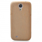 Wood Grain Pattern Protective Plastic Back Case for Samsung Galaxy S4 i9500 - Wood