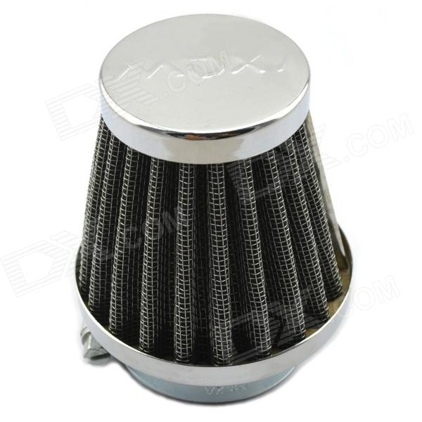 Jtron Motorcycle Refit Air Cleaner / Mushroom Head Style Air Filter - Silver + Black (Diameter 4cm)