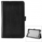 Stylish Protective PU Leather Case for Asus ME372 - Black