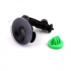 G-125 Suction Cup Mount Holder Stand for Gopro Hero 4/ 2 / 3 / 3+ / SJ4000 - Black + Green