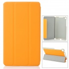 Stylish Protective PU Leather Case for Google Nexus 7 II - Orange