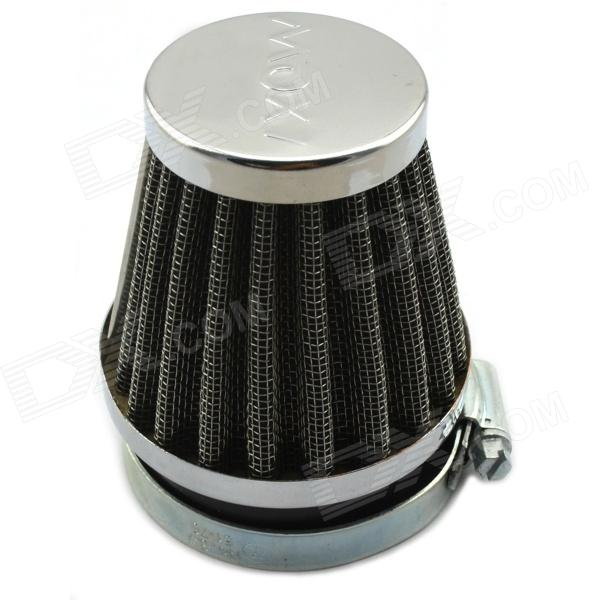 Jtron Motorcycle Refit Air Cleaner / Mushroom Head Style Air Filter - Silver + Black (Diameter 6cm)