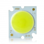 5W 300mA 95lm 6500K White Light COB LED Light Source for Ceiling Lamp - Yellow + Silver (DC 15~17V)