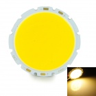 20W 2000lm 3200K COB LED Warm White Light Bulb - Silver + Yellow (32-36V)