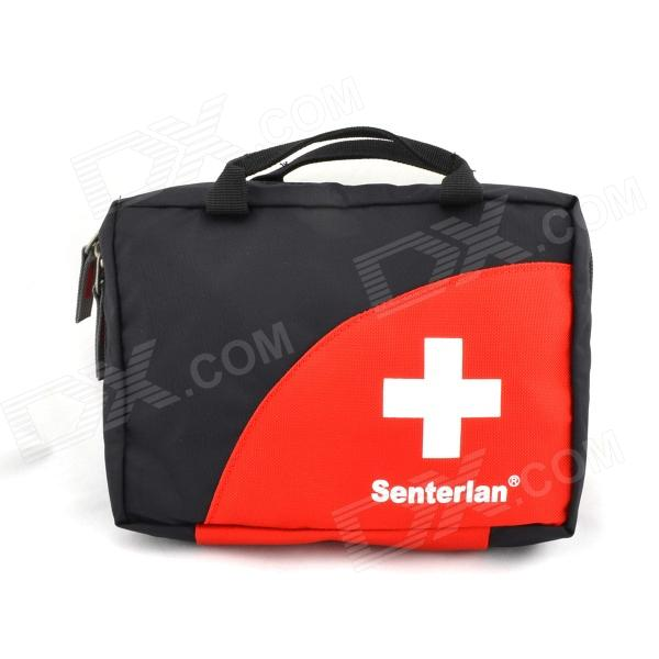 Senterlan S2199 Outdoor First Aid Kits Storage Bag - Red + White + Black