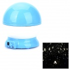 Dream Warm White Light Star Sky Projection Night Light w/ USB Cable - Blue
