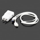 5V 2000mAh US Plug Power Charging Adapter + Cable for Samsung Note 3 / N9000 - White (100~240V)