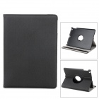Flip-open PU Leather Case w/ 360' Rotating Back + Holder + Card Slot + Auto Sleep for Ipad 5