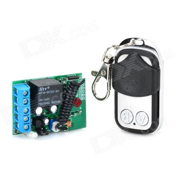 VGG11 12V 1-CH Multi-Function Wireless Remote Switch w/ Controller - Green + Blue multi function green