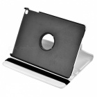 Protective 360 Degree Rotary PU Leather + PC Case w/ Stand + Auto Sleep for Ipad 5 - Beige