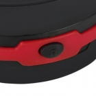 Retractable 3-Mode LED Lantern Flashlight - Black + Red (3 x AA)