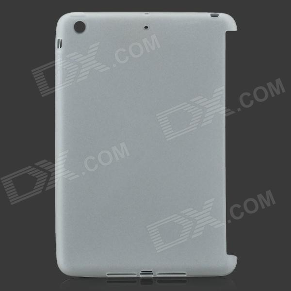 Protective TPU Back Case for Retina Ipad MINI - Translucent White g case slim premium чехол для apple ipad mini 4 white