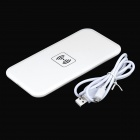 Universal Qi Wireless Charger for Cellphone - White