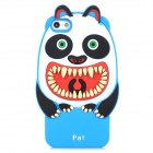 "Ounuo Cool Monster ""Pa"" Style Protective Silicone Case for Iphone 5 - Blue"