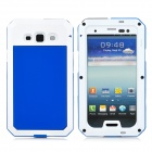 PEPK 003 3-in-1 Water-resistant Aluminum Alloy Case for Samsung Galaxy S3 - Blue + White