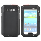 PEPK 003 3-in-1 Water-resistant Aluminum Alloy Case for Samsung Galaxy S3 - Black