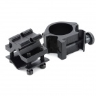 K185 25mm Support de montage pour pistolet Clip Clamp pour M16 / M14 Rifle + More - Noir