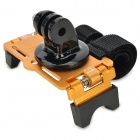 Tripod Mount Adapter + Bike Bicycle Camera Mount Holder for Gopro 2 / 3 - Golden