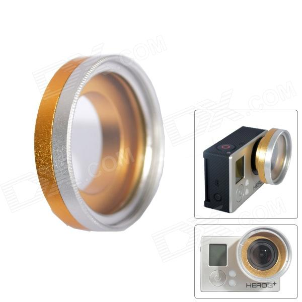 Fat Cat A-U33 Professional  High Transmittance 37mm  FPV Protective UV Lens for Gopro Hero 4/3+/Hero3 professional high transmittance 37mm fpv protective uv lens for gopro hero 4 3 hero3