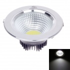 "ZIYU ZY-0810-025 10W 850lm 6500K White Light 4"" Ceiling Lamp - White + Black + Silver (AC 85~265V)"