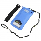 Tteoobl T-03C Protective TPU Waterproof Bag for Iphone 4 / 4S / 5 / 5s - Blue