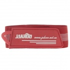 Jakroo Elastic Velcro Bicycle Cycling Pants Leg Band Strap - Red + White